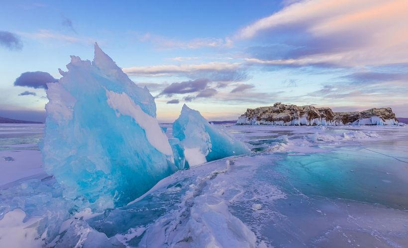 «Маломорские торосы» — Озеро Байкал