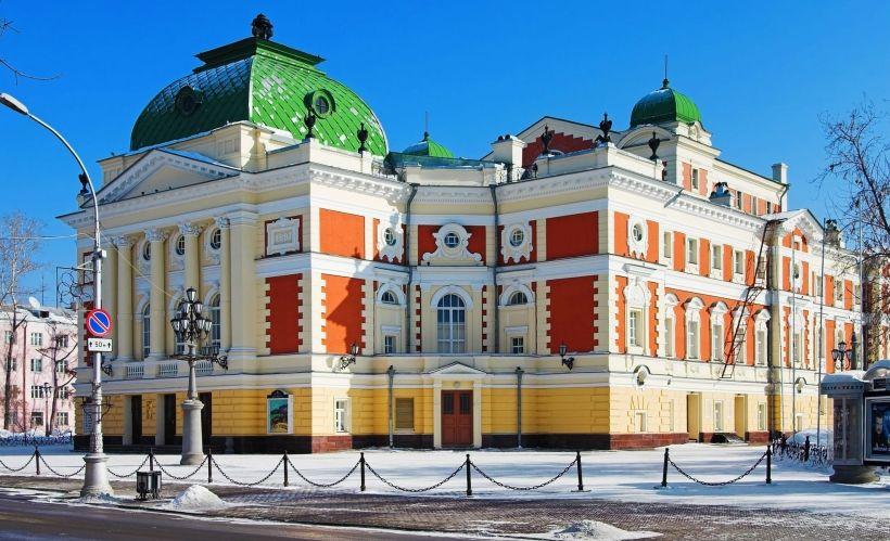 Иркутский академический драматический театр имени Н. П. Охлопкова (осмотр)