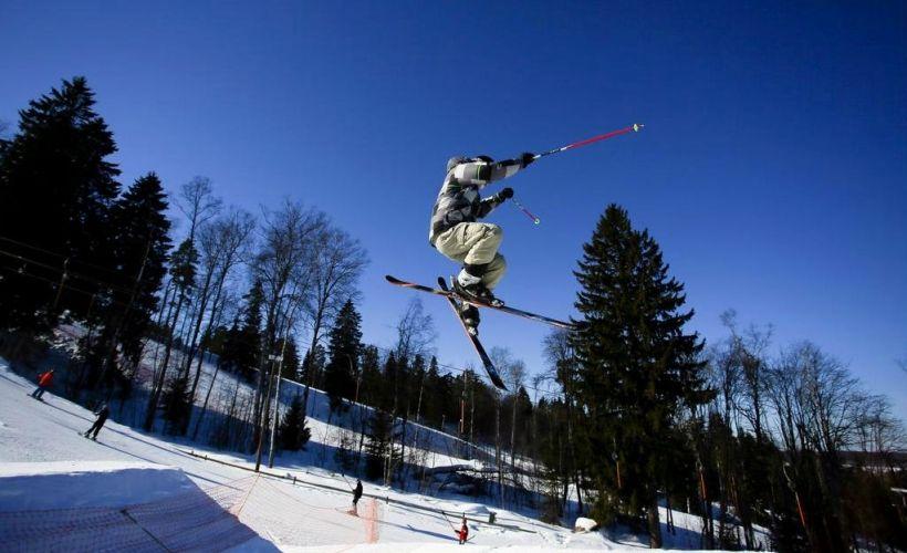 Горные лыжи в «Золотой долине»