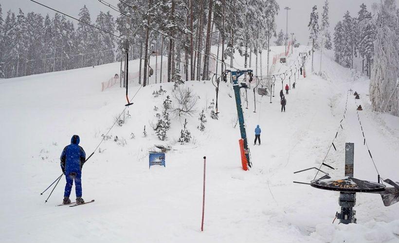 Горные лыжи на курорте «Пухтолова гора»