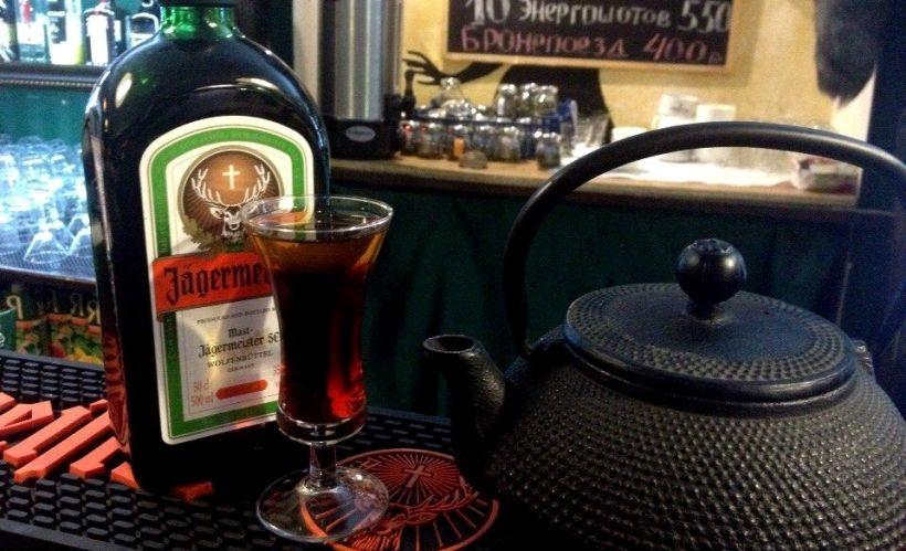 «Луженый олень» в баре «Пятница»