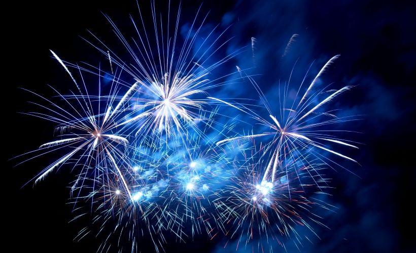Новогодние гулянья на Площади Искусств