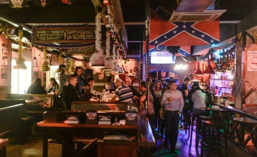 «Восстание Дедов Морозов» в Rock-Bar