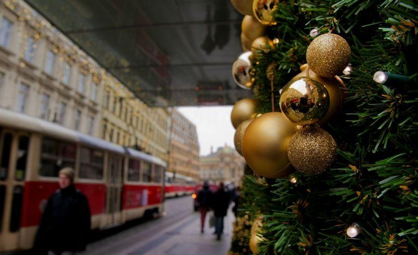 Новый год в трамвае