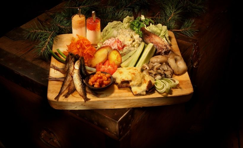 Попробовать традиционные блюда карельской кухни