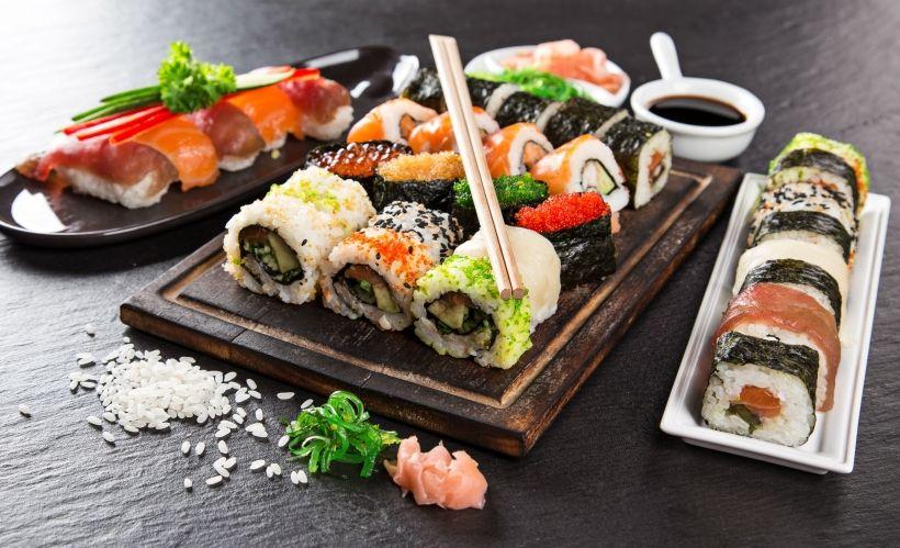 Японская кухня — «Рыба. Рис»