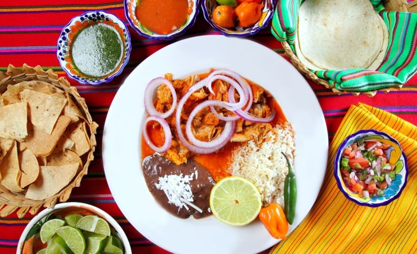 Латиноамериканская кухня — Mexico