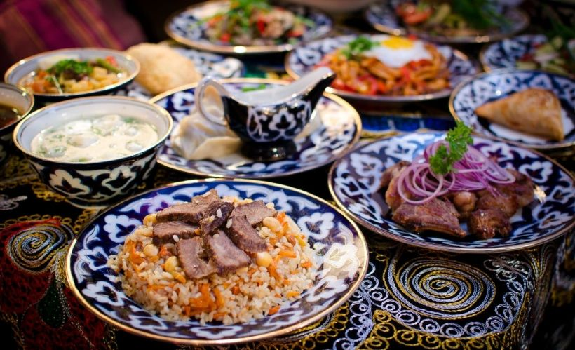 Узбекская кухня — «Инжир»