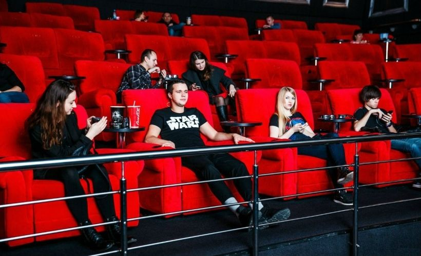 Фильм в VIP-зале кинотеатра «Семь звезд»