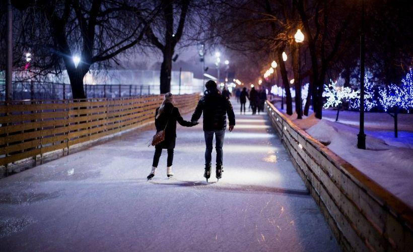 Места Знакомств В Москве Зимой