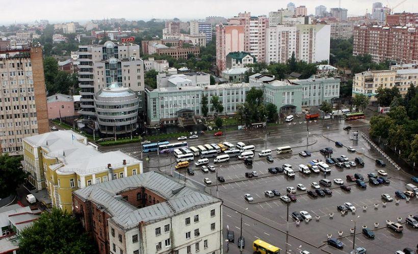 Смотровая площадка Железнодорожного вокзала