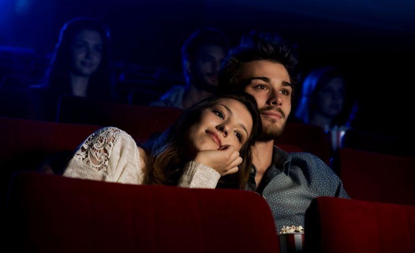 Романтический вечер в кино