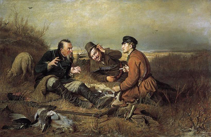 «Охотники на привале», В.Г. Перов