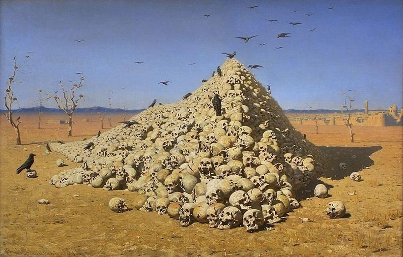 «Апофеоз войны», В.В. Верещагин