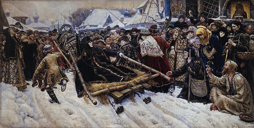 «Боярыня Морозова», В.И. Суриков