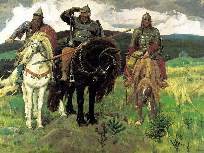 «Богатыри», В.М. Васнецов