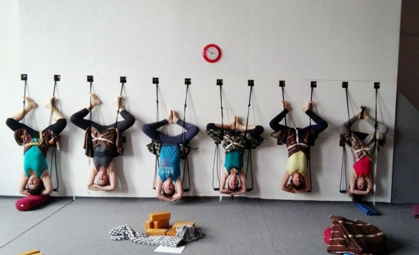 Студия йоги Айенгара
