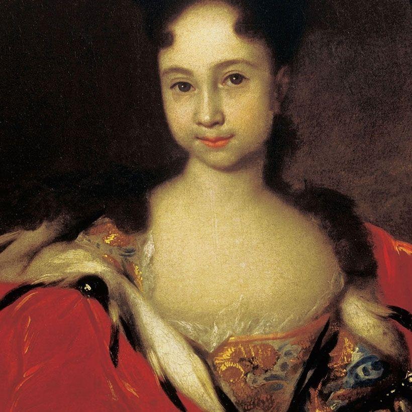 «Портрет цесаревны Анны Петровны», И.Н. Никитин