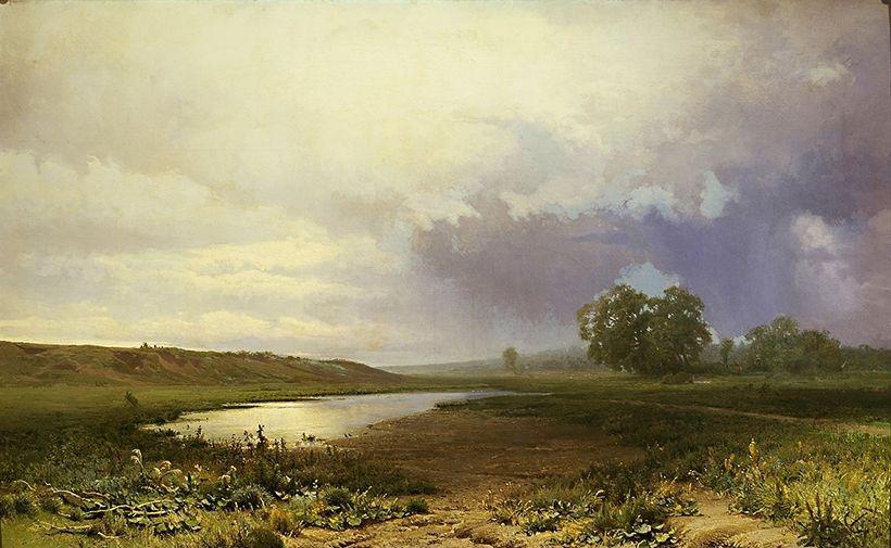 «Мокрый луг», Ф.А. Васильев