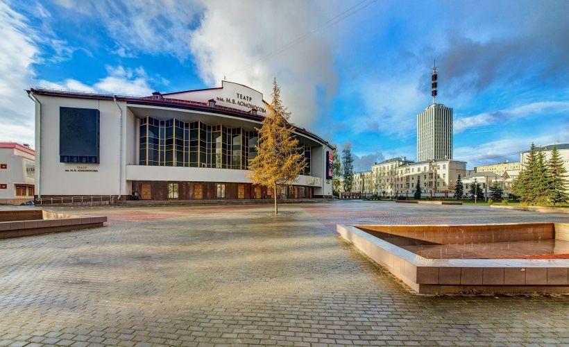Архангельский областной театр драмы им. М.В. Ломоносова (осмотр)