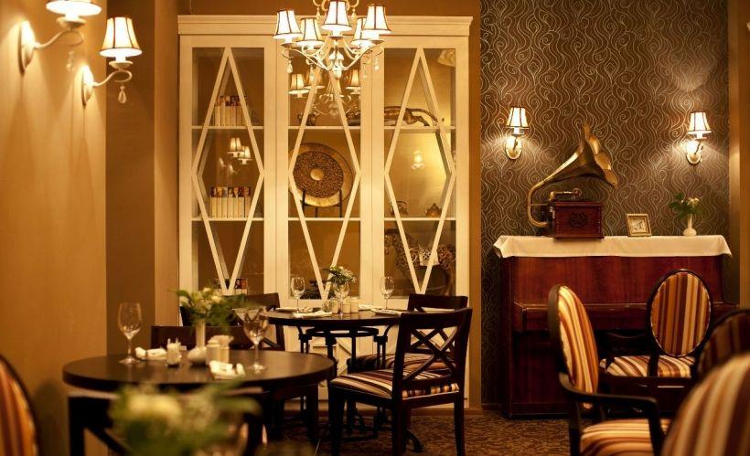 Ужин в ресторане «Тэнгис»