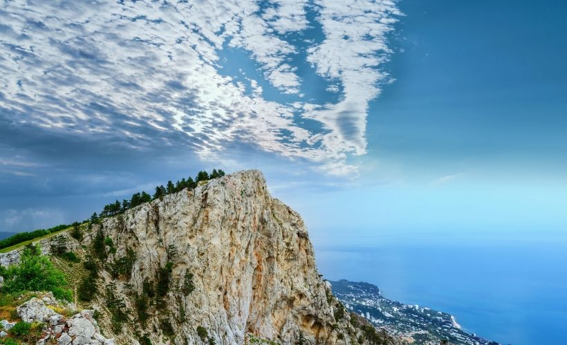 Увидеть красоты Крыма с высоты птичьего полёта