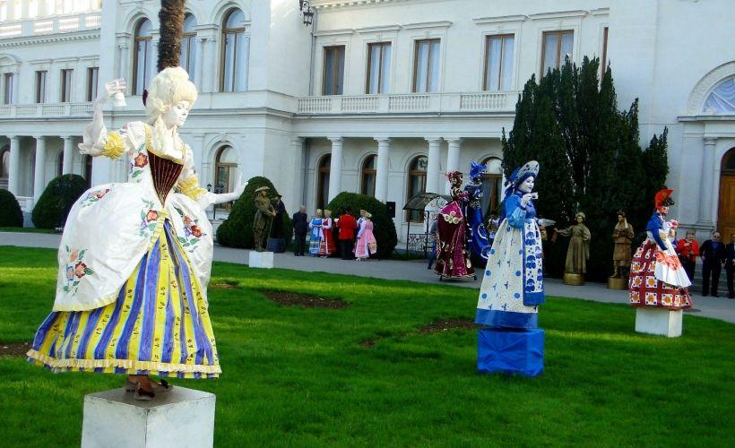 Стать гостем Евпаторийского Чемпионата Живой Статуи