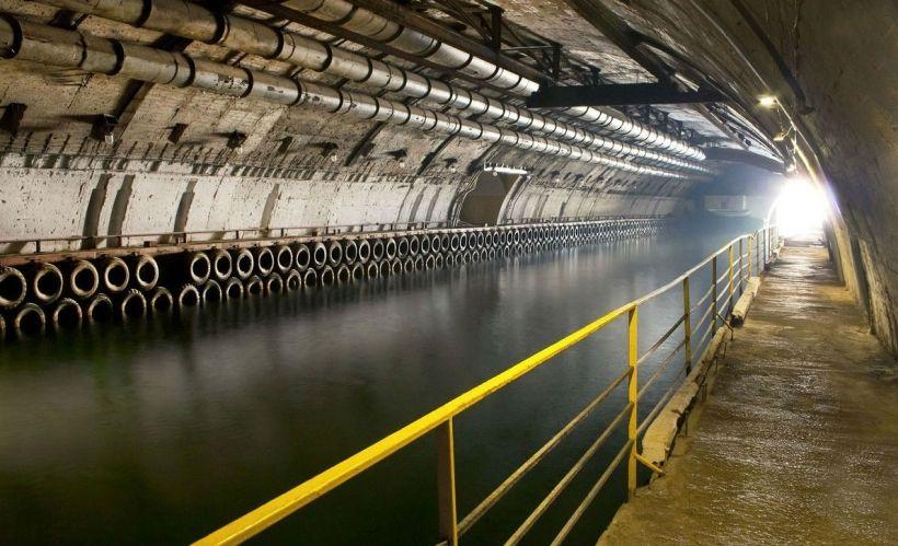 Совершить путешествие по подземному морскому фарватеру