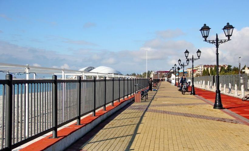 Покататься на велосипеде по Морской набережной
