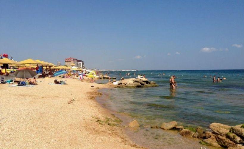 Пляж Санрайз в Феодосии