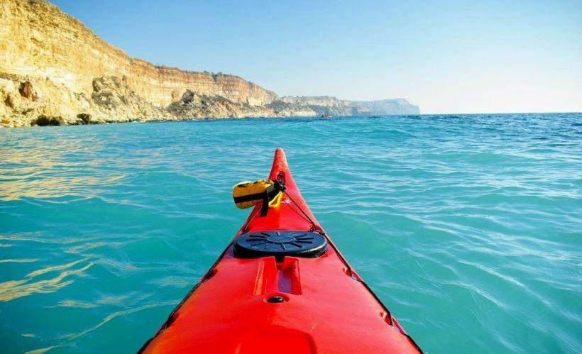 Yeti-kayak в Балаклаве