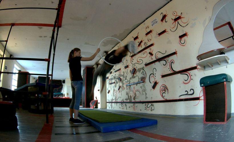 Школа паркура «Красный Дракон» в Евпатории