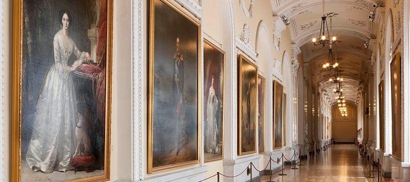 Галерея портретов императорской династии Романовых