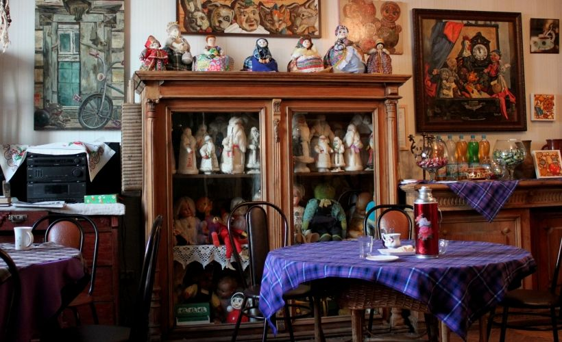 Чайная в галерее «Эбиволь»