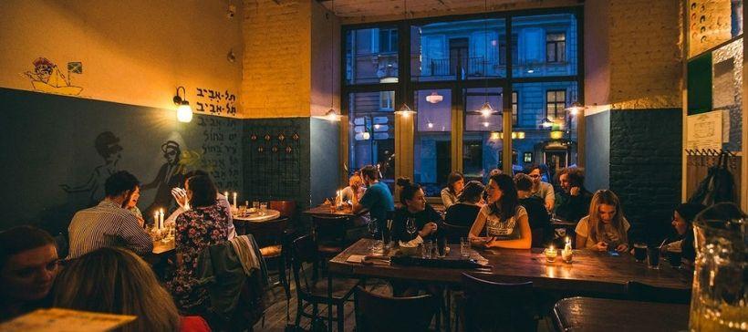 Ужин и бар-хоппинг на Рубинштейна