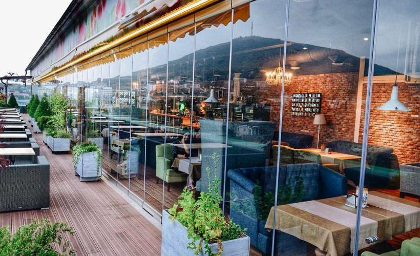 Ужин в ресторане «Большой балкон»