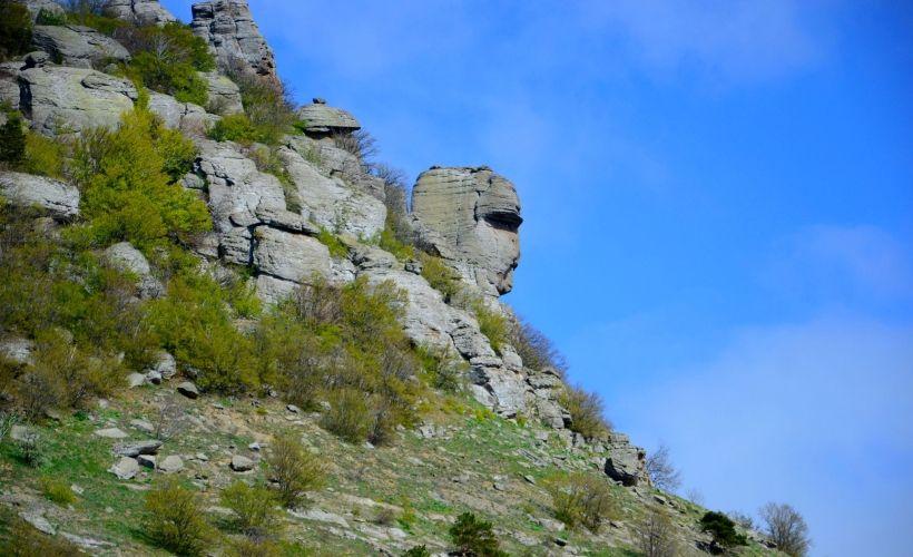 Долина Привидений в Лучистом