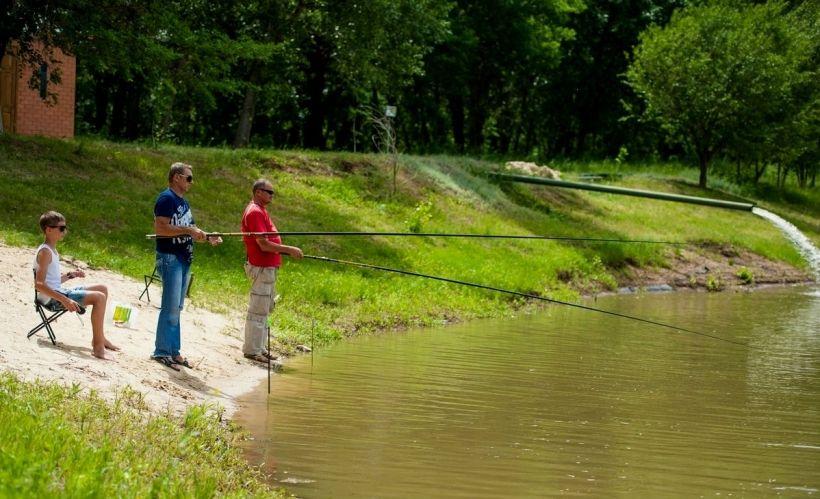 Рыбалка на турбазе «Солнечный остров»