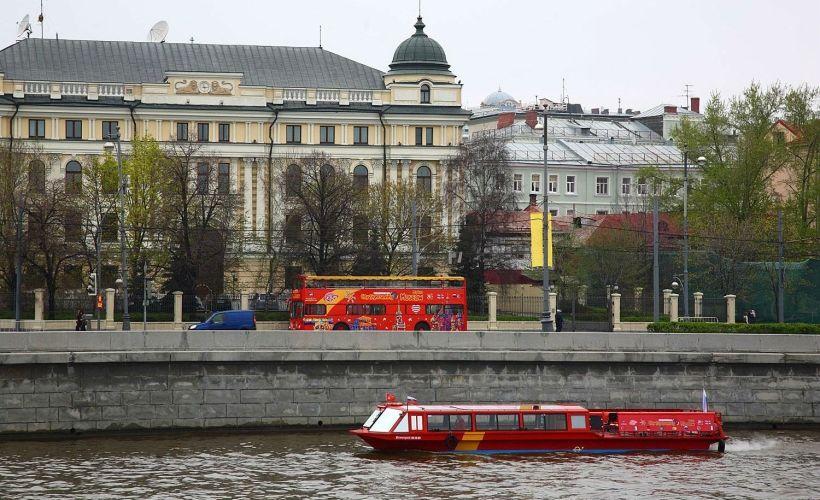 Совместный маршрут по городу и реке