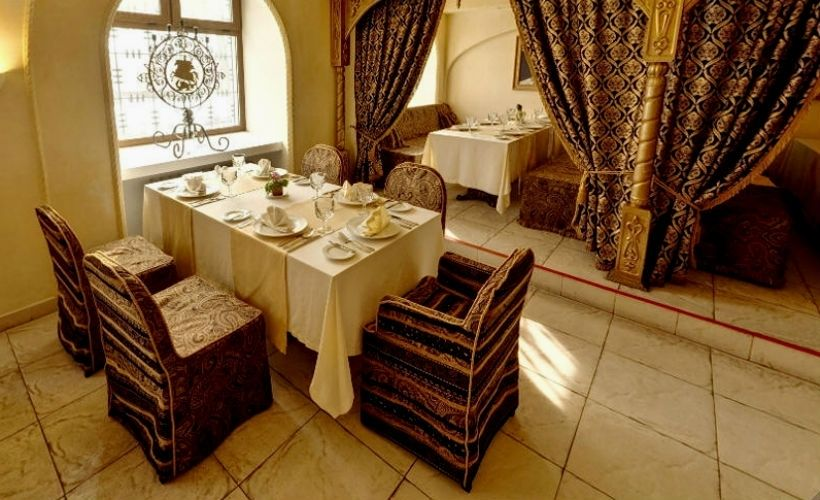Обед в ресторане «Иоанн Васильевич»
