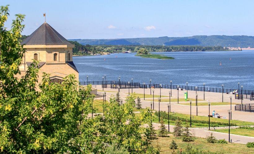 Речной порт и музей булгарской цивилизации