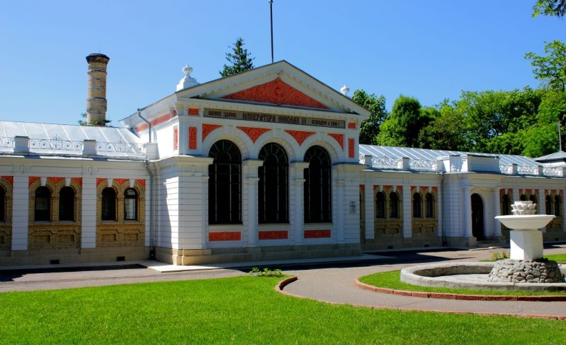 Ванное здание императора Николая II