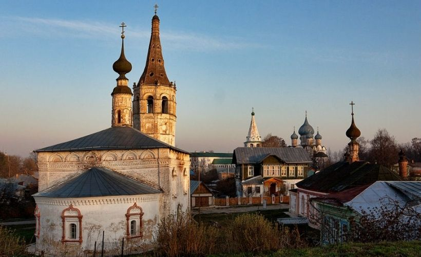 Никольская церковь и Христорождественская церковь