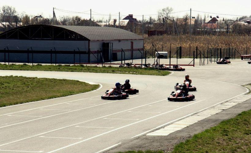Устроить гонки на картодроме «Лемар»