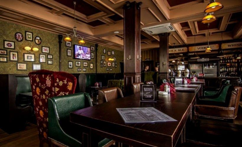 Обед в SOHO pub & steak house