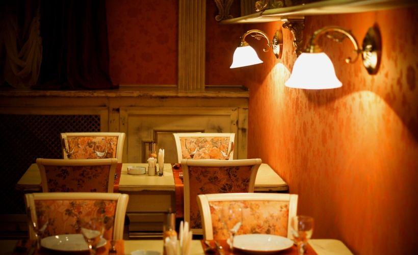 Ужин в кафе-ресторане «Баринъ»