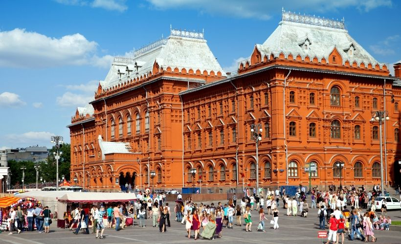 Здание бывшей Московской городской думы