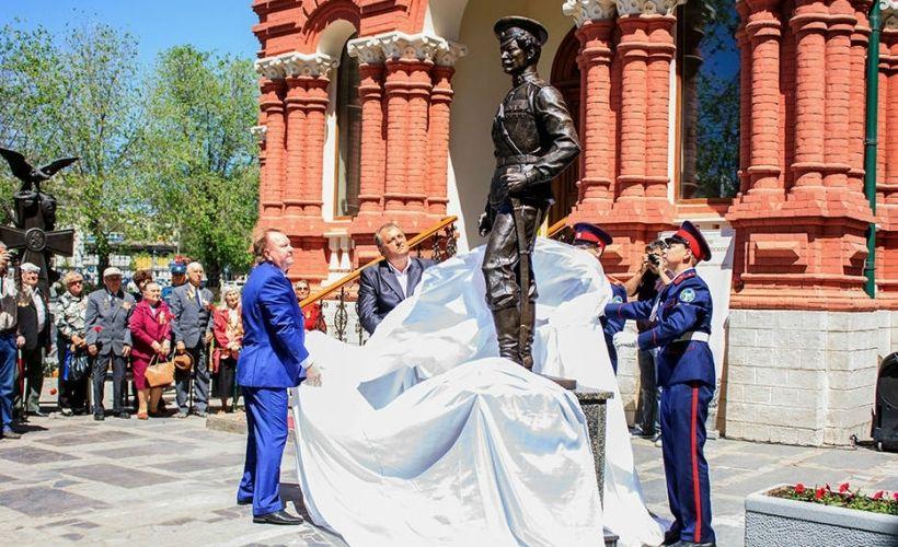 Памятник Константину Недорубову в Волгограде