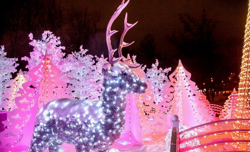 «Путешествие в рождество» в Сокольниках