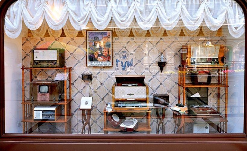 Исторические витрины ГУМа